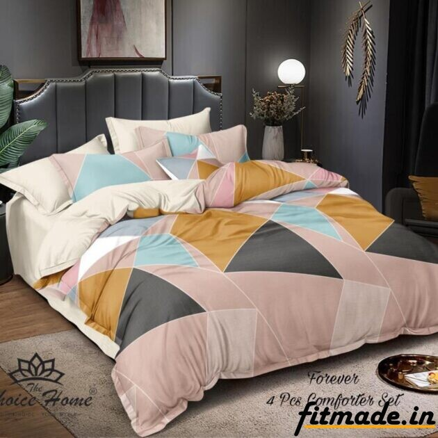 Glacé Cotton Bedsheet & Comforter is filled with Reliance Fiber