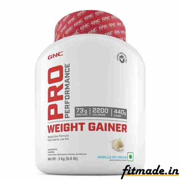 GNC Pro performance weight gainer