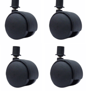Fitmade Symphony Cooler Wheels 2″ Inch, Size 19mm, Set of 4, Black Colour